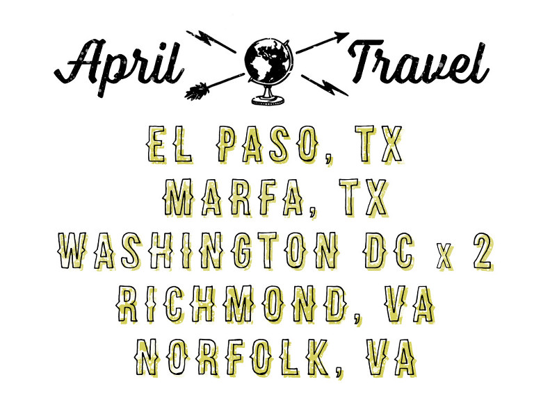 april travel