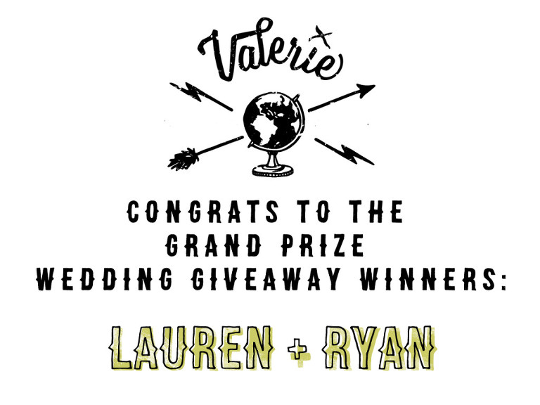Lauren and Ryan Winners